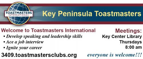 Key Peninsula Toastmasters