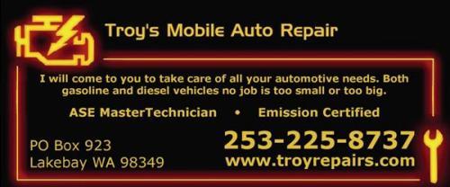 Troys Mobile Auto Repair